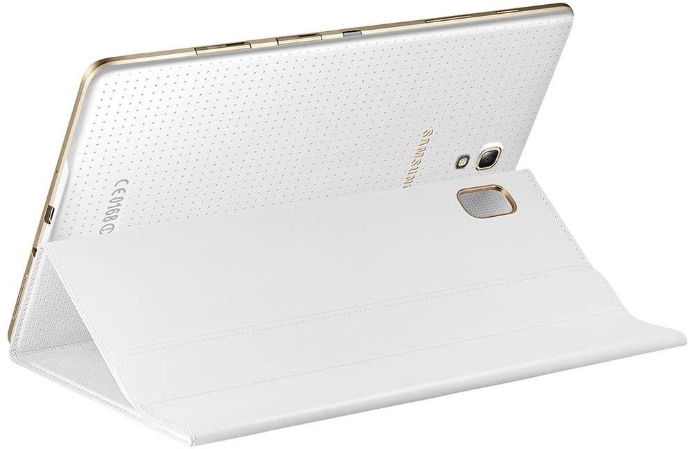 """Чехол Samsung для Galaxy Tab S 8.4"""" EF-BT700WWEGRU Dazzling White - 9"""