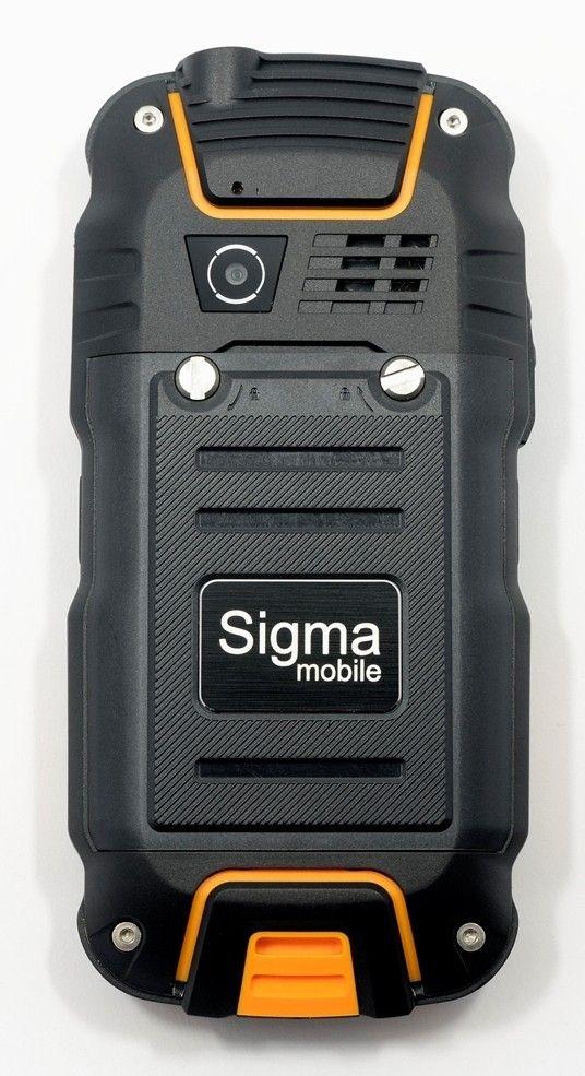 Мобильный телефон Sigma mobile X-treme DZ67 Travel Orange Black - 1