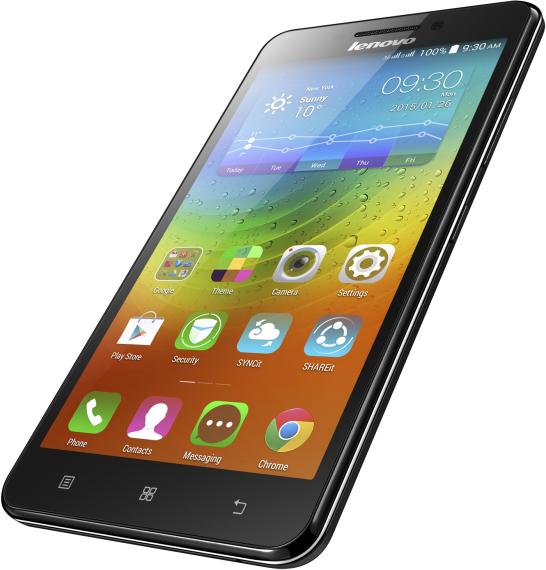 Мобильный телефон Lenovo A5000 Black - 1