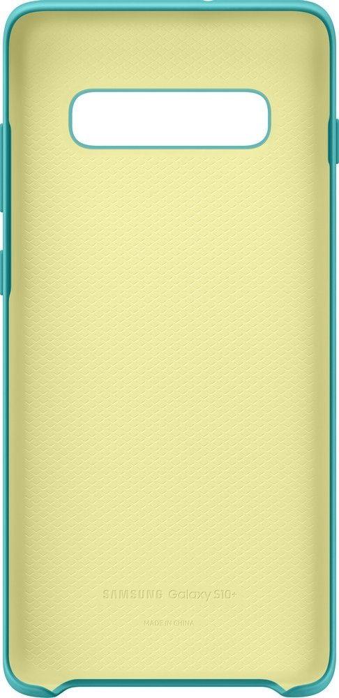 Панель Samsung Silicone Cover для Samsung Galaxy S10 Plus (EF-PG975TGEGRU) Green от Територія твоєї техніки - 4