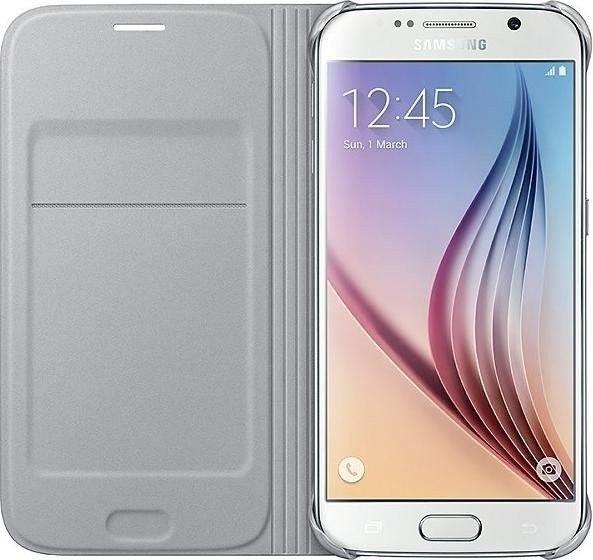 Чехол Samsung Zero для Samsung Galaxy S6 Silver (EF-WG920BSEGRU) - 2