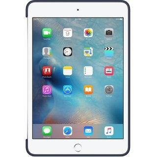 Силиконовый чехол Apple Silicone Case для  iPad mini 4 (MKLM2ZM/A) Midnight Blue - 2