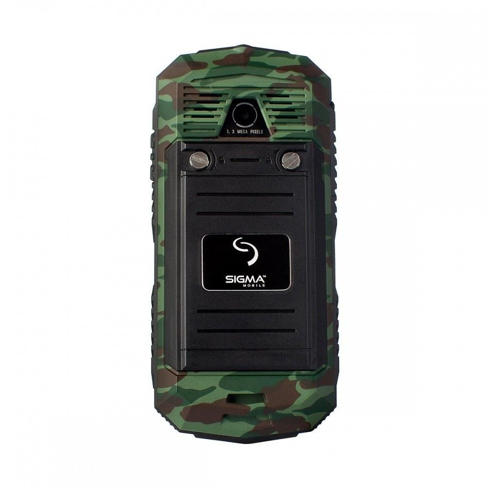 Мобильный телефон Sigma mobile X-treme IT67 Dual Sim Khaki - 1