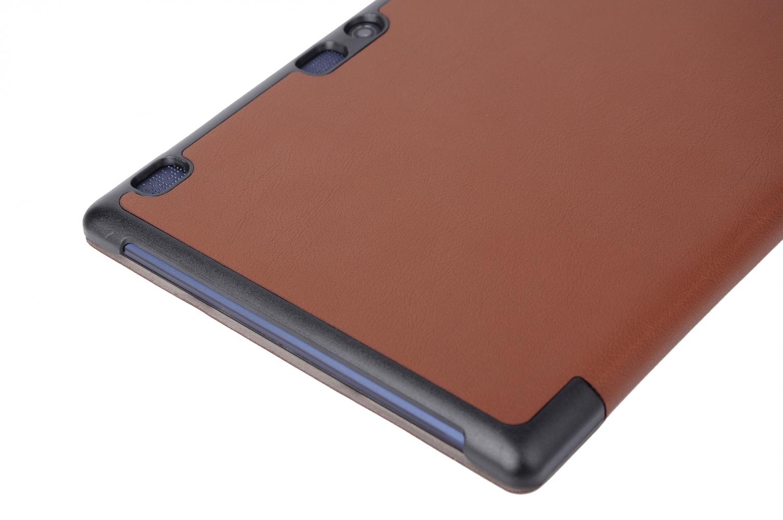 Обложка AIRON Premium для Lenovo Tab 2 A10 Brown - 5