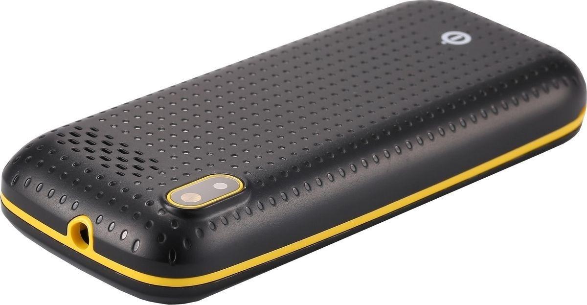 Мобильный телефон Nomi i181 Black-Yellow - 4