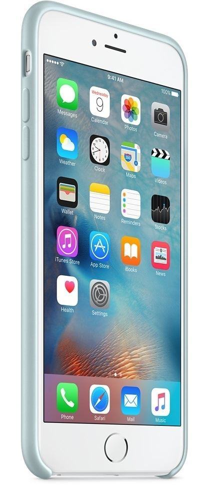 Силиконовый чехол Apple iPhone 6s Plus Silicone Case (MLD12) Turquoise - 3