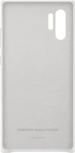 Чехол Samsung Leather Cover для Samsung Galaxy Note 10 Plus (EF-VN975LWEGRU) White от Територія твоєї техніки - 4