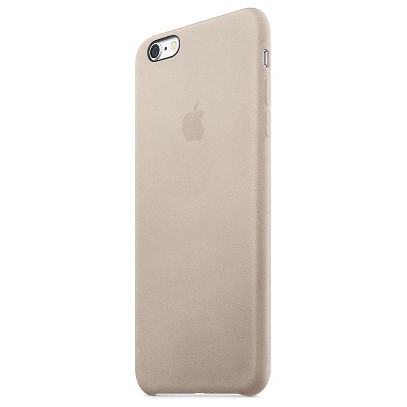 Чехол для Apple iPhone 6s Plus Leather Case Rose Gray (MKXE2) - 2
