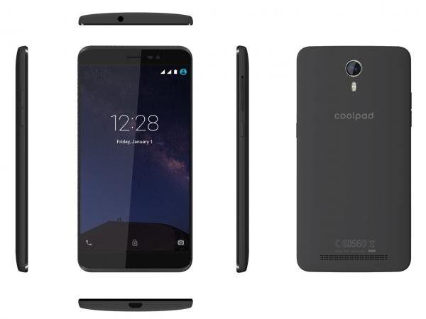 Мобильный телефон Coolpad Porto S Dark Gray - 6