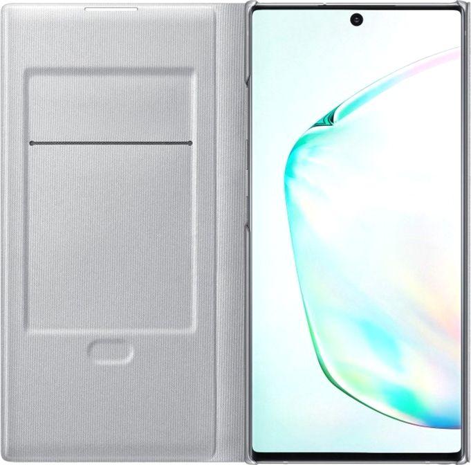 Чехол Samsung LED View Cover для Samsung Galaxy Note 10 Plus (EF-NN975PSEGRU) Silver от Територія твоєї техніки - 3