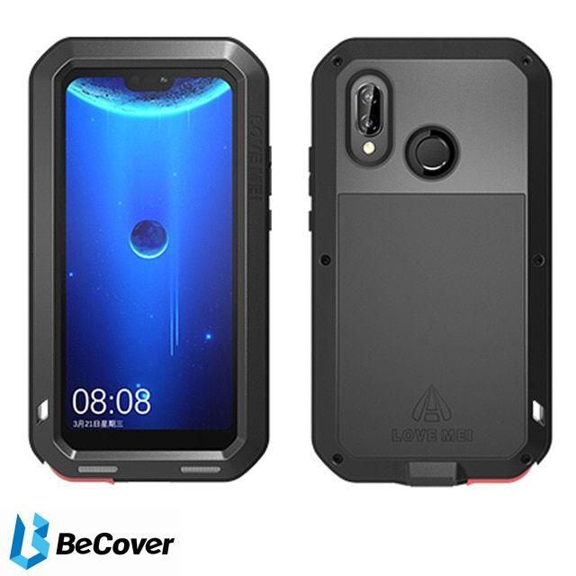 Панель Love Mei Powerful для Huawei P20 Lite (BC_703122) Black от Територія твоєї техніки - 4