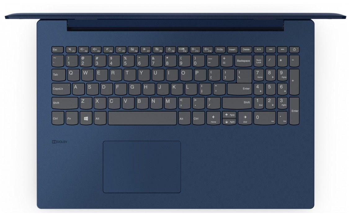 Ноутбук Lenovo Ideapad 330-15IKB (81DC00R9RA) Midnight Blue от Територія твоєї техніки - 4
