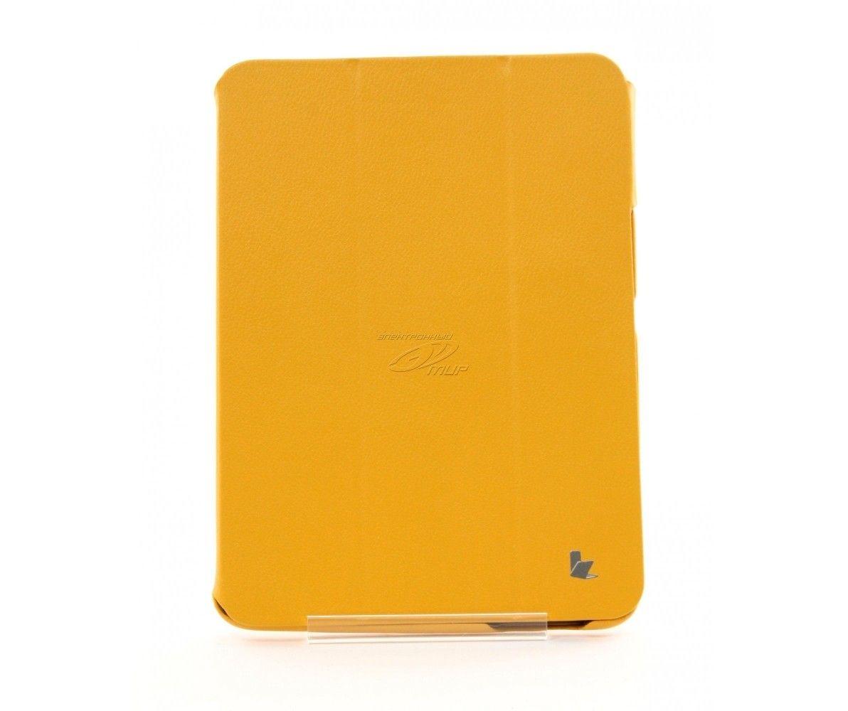 Чехол-книжка Jison Premium Leatherette Smart Case (JS-S52-03H80) Yellow for Galaxy Tab 3 10.1 (P5200) - 4