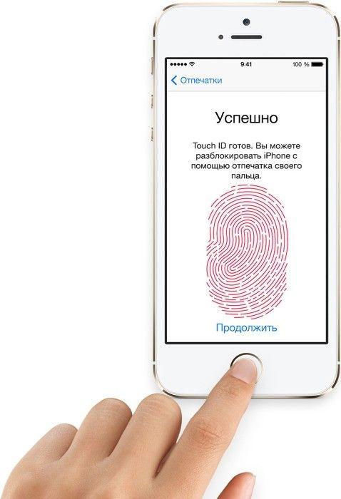 Мобильный телефон Apple iPhone 5S 16GB Gold - 4