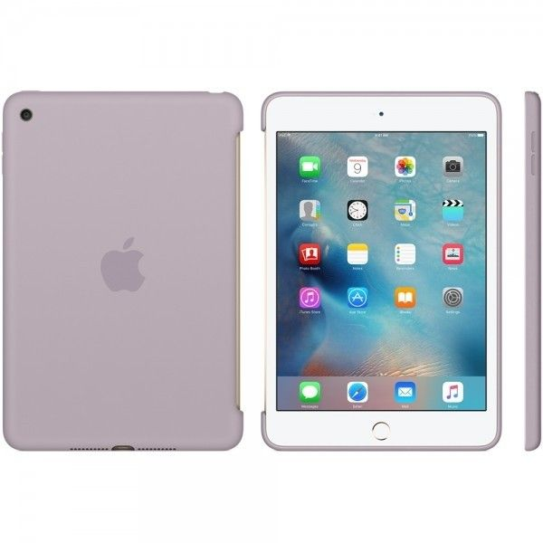 Силиконовый чехол Apple Silicone Case для  iPad mini 4 (MLD62ZM/A) Lavender - 4