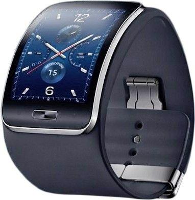Смарт часы Samsung Galaxy Gear S (SM-R7500ZKASEK) Black - 1