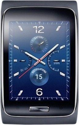 Смарт часы Samsung Galaxy Gear S (SM-R7500ZKASEK) Black - 2