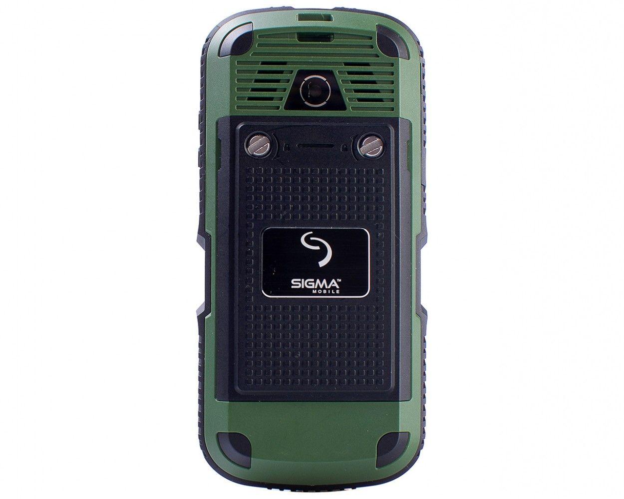 Мобильный телефон Sigma mobile X-treme IP67 Green - 1