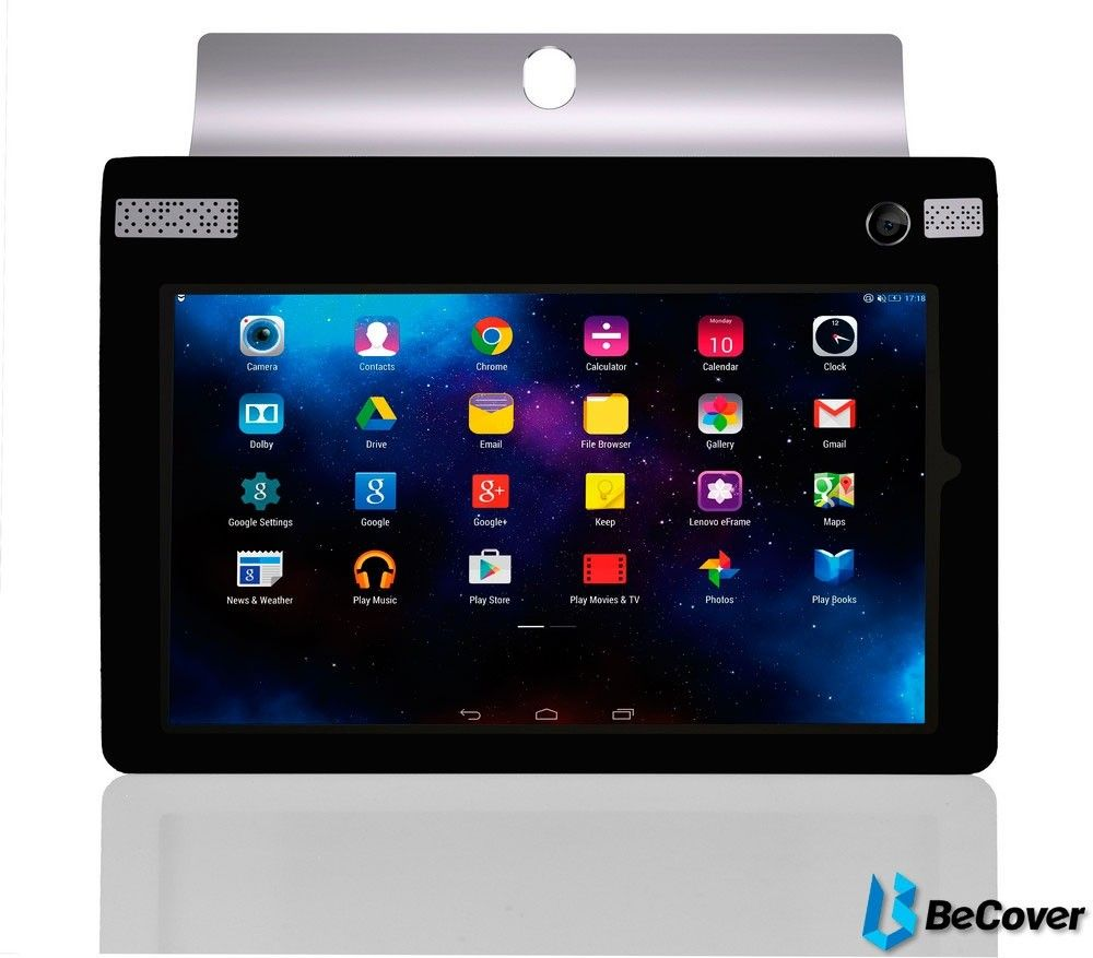 Силиконовый чехол BeCover для Lenovo Yoga Tablet 3-850 Black - 1