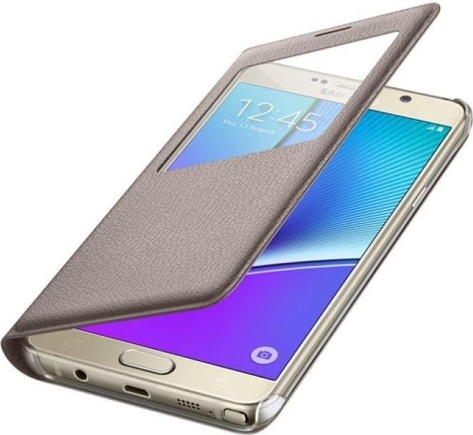 Чехол Samsung Note 5 N920 EF-CN920PFEGRU Gold - 2