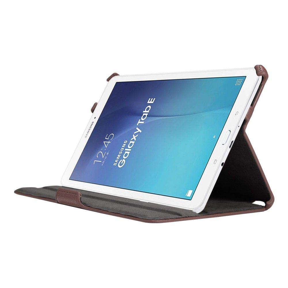 Обложка AIRON Premium для Samsung Galaxy Tab E 9.6 Brown - 1