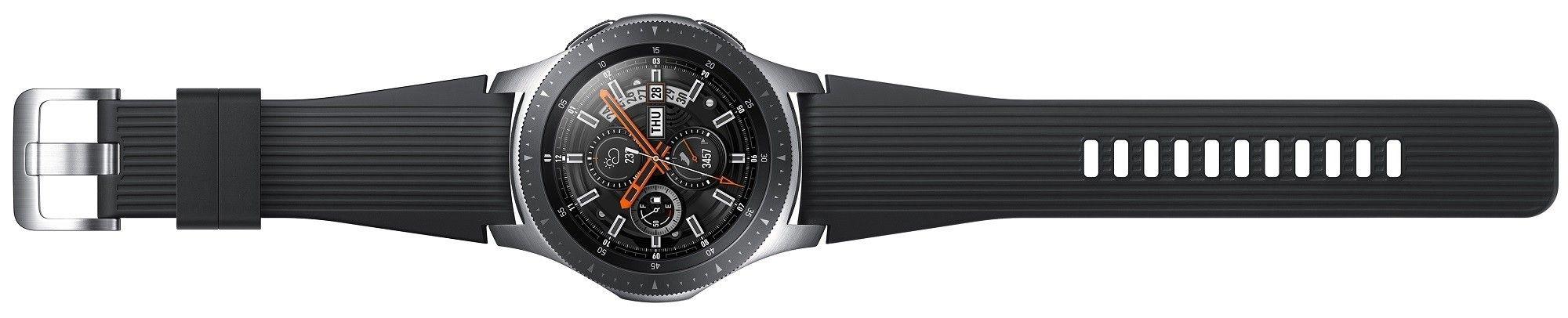 Смарт часы Samsung Galaxy Watch 46mm (SM-R800NZSASEK) Silver от Територія твоєї техніки - 6