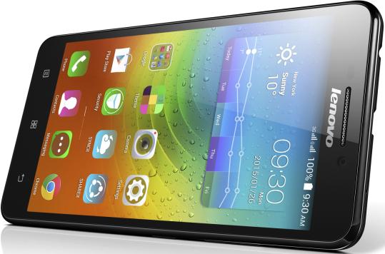 Мобильный телефон Lenovo A5000 Black - 3