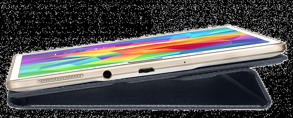"""Чехол Samsung T701 для Samsung Galaxy Tab S 8.4"""" Charcoal Black (EF-BT700BBEGRU) - 1"""