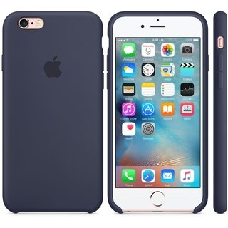 Панель Apple iPhone 6s Silicone Case Midnight Blue (MKY22ZM/A) - 2
