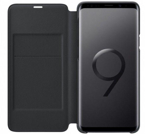 Чехол-Книжка Samsung LED View Cover S9 Plus Black (EF-NG965PBEGRU) от Територія твоєї техніки - 4