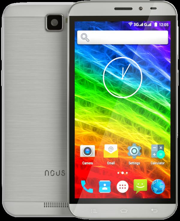 Мобильный телефон Nous NS 5001 Silver - 4