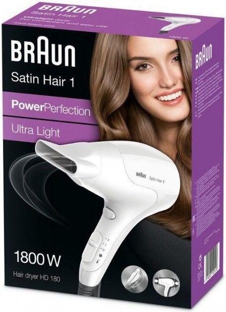 Фен BRAUN HD 180 - 1