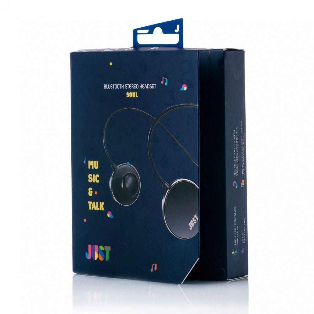 Наушники Just Soul Bluetooth Headset Black (SL-BLTH-BLCK) - 2