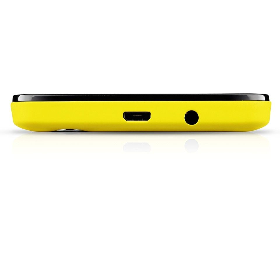 Мобильный телефон Prestigio Wize P3 3508 DUO Yellow - 3