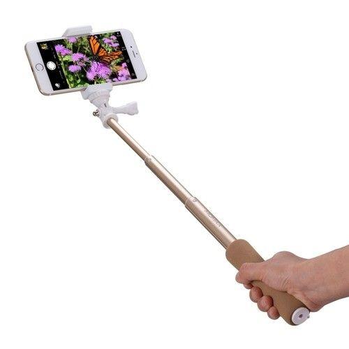 Монопод для селфи MOMAX Selfie Mini Bluetooth Selfie Pod 46cm Golden (KMS2L) - 2