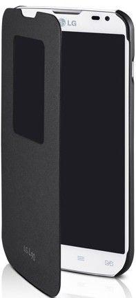 Чехол LG QUICK WINDOW для LG L90 Black (CCF-385AGEUBK) - 1