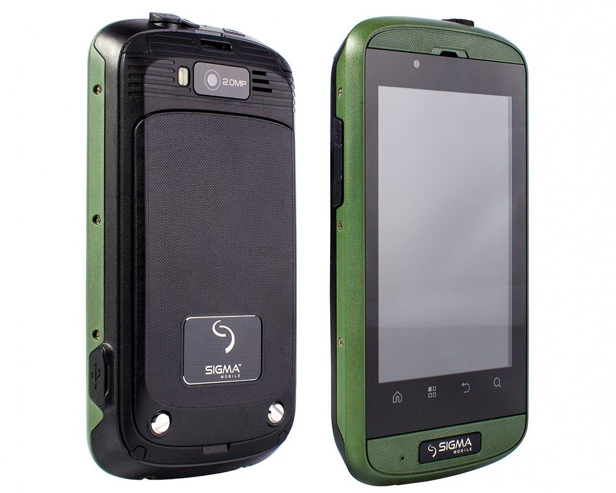 Мобильный телефон Sigma mobile X-treme PQ12 Green - 2