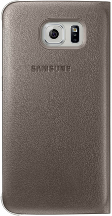 Чехол Samsung Zero для Samsung Galaxy S6 Gold (EF-WG920PFEGRU) - 1