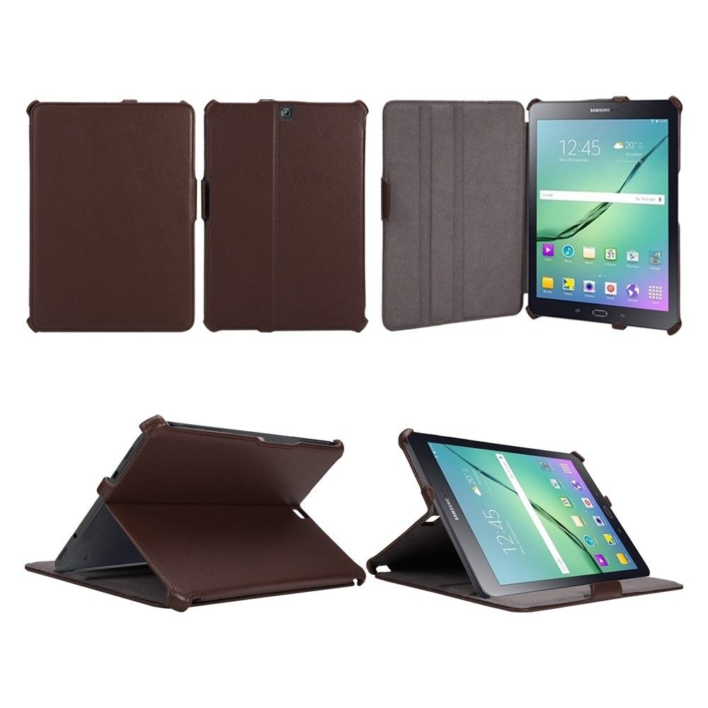 Обложка AIRON Premium для Samsung Galaxy Tab S 2 9.7 Brown - 7