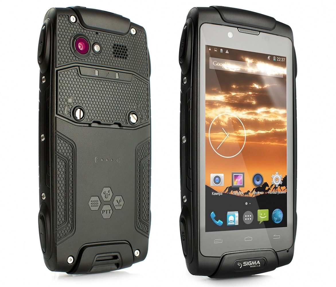 Мобильный телефон Sigma mobile X-treme PQ30 Black - 3