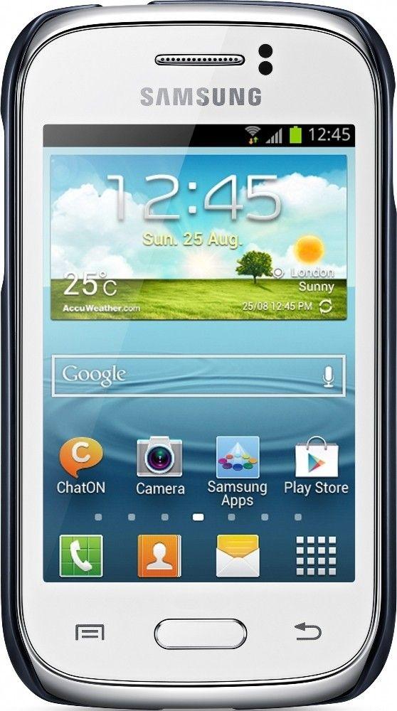Накладка Samsung для Galaxy Young S6312 Blue (EF-PS631BLEGWW) - 1