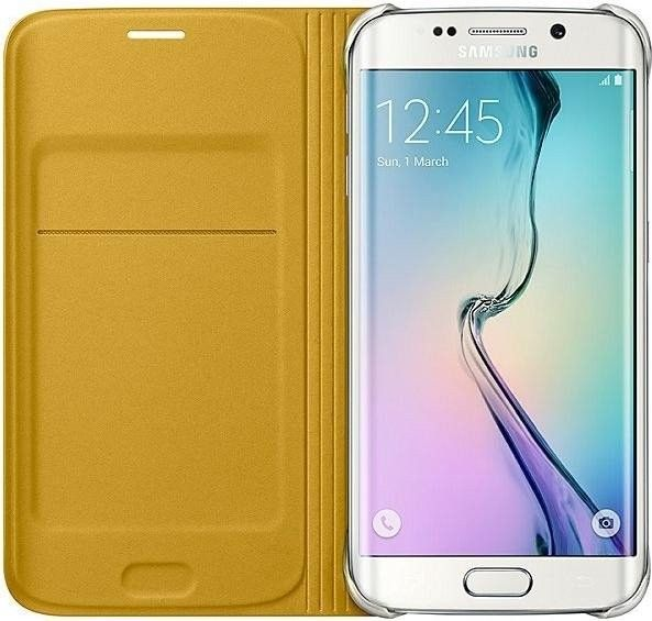 Чехол Samsung Zero Edge для Samsung Galaxy S6 Edge Yellow (EF-WG925BYEGRU) - 2
