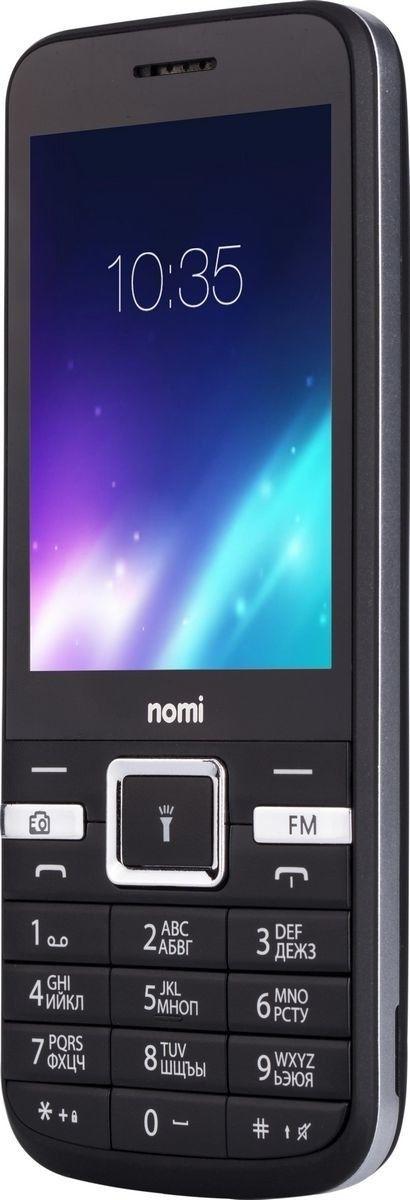 Мобильный телефон Nomi i300 Black - 5