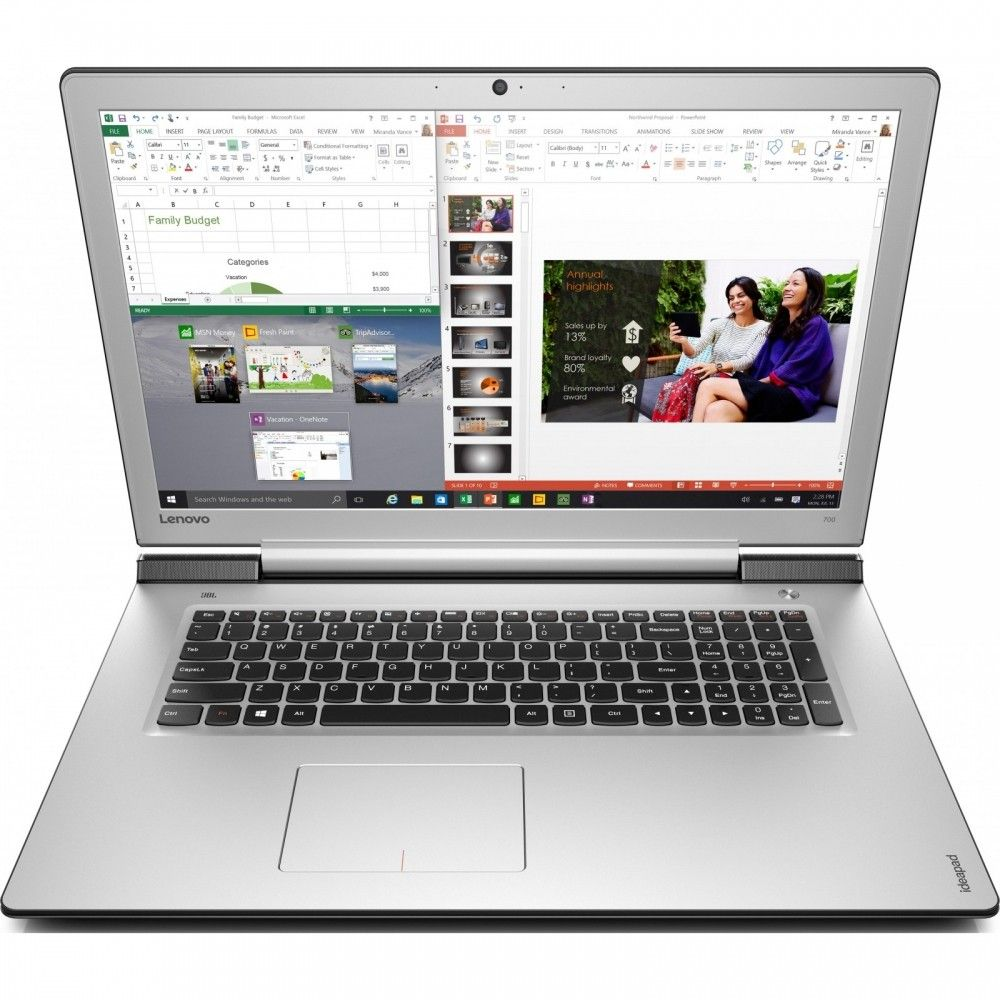 Ноутбук Lenovo IdeaPad 700-17 (80RV0016UA) Black - Silver - 2