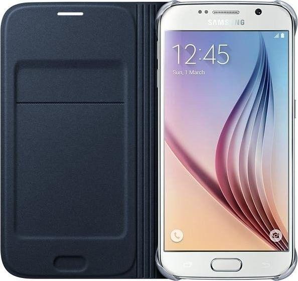 Чехол Samsung Zero для Samsung Galaxy S6 BlueBlack (EF-WG920BBEGRU) - 2