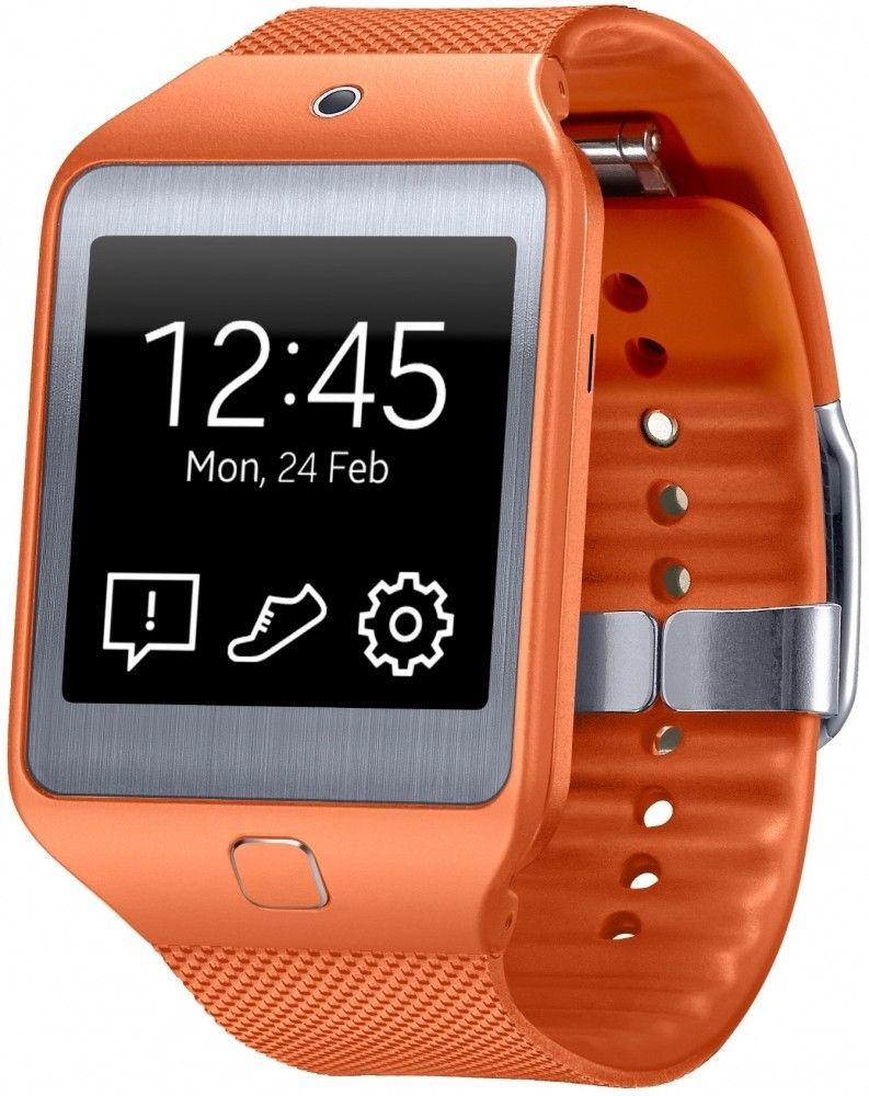 Смарт часы Samsung Gear 2 Neo (SM-R3810ZOASEK) Orange - 1