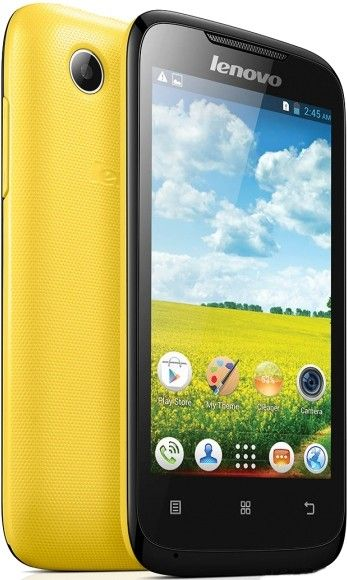 Мобильный телефон Lenovo A369i Yellow - 1