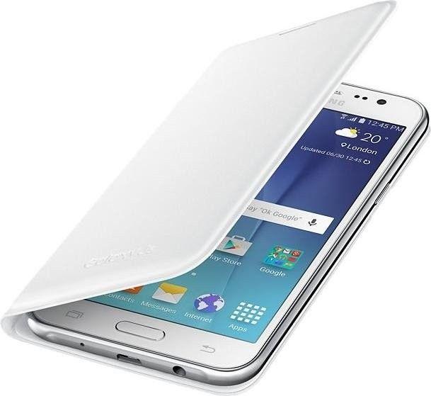 Чехол Samsung Flip Wallet для Samsung Galaxy J5 White (EF-WJ500BWEGRU) - 3