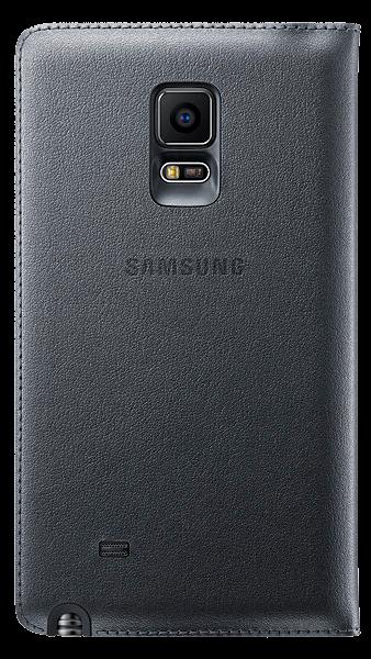 Чехол Samsung Flip Wallet для Galaxy Note Edge EF-WN915BCEGRU Charcoal - 2