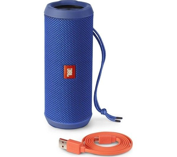Портативная акустика JBL Flip 3 Blue (JBLFLIP3BLUE) - 4